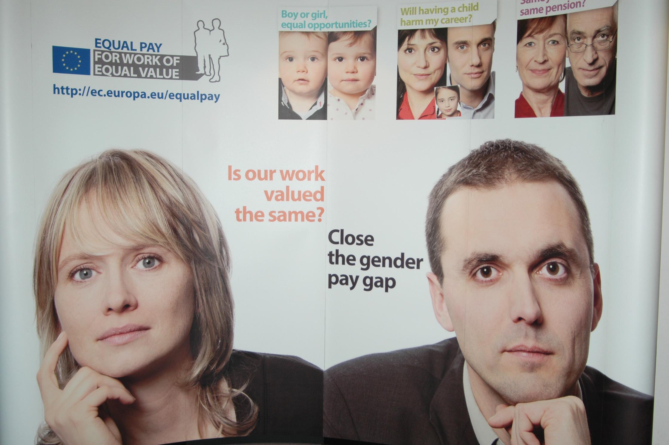 Moterų ir vyrų nelygybė – ekonomiškai naudinga