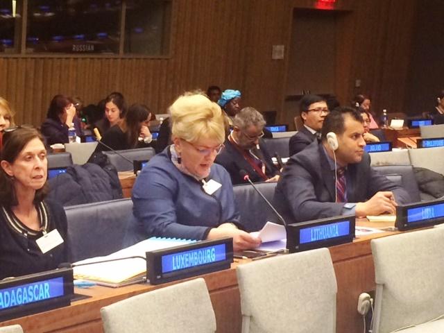 """Ministrė A. Pabedinskienė: """"Turime tol siekti faktinės moterų ir vyrų lygybės, kol lyčių nelygybė bus visiškai panaikinta"""""""