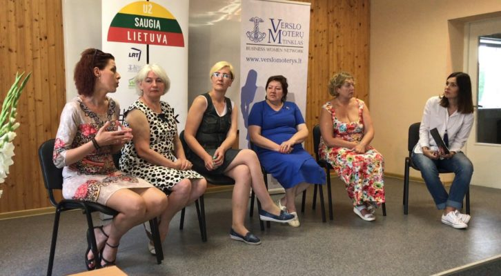 Prezidentės vizitas Gasčiūnuose: atviras pokalbis su smurto aukomis
