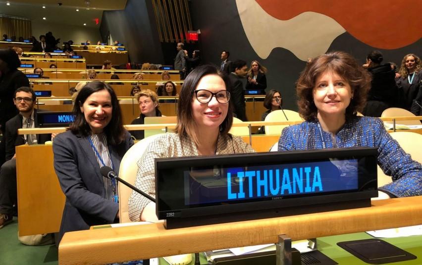 """Viceministrė Eglė Radišauskienė: """"Mes kartu ir kiekvienas atskirai esame atsakingi, kad moterų ir vyrų lygios galimybės ir teisės būtų užtikrinamos"""""""