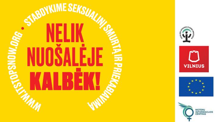 Pagalbos seksualinius nusikaltimus patyrusiems asmenims organizavimas