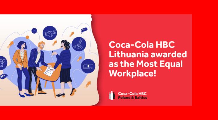 """""""Coca-Cola HBC Lietuva"""": pandemija dar labiau išryškino lygybės svarbą"""