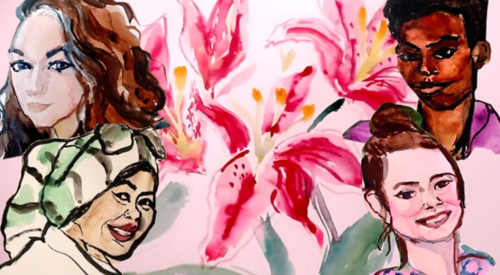 Femicido aukoms pagerbti – meno kūrinys