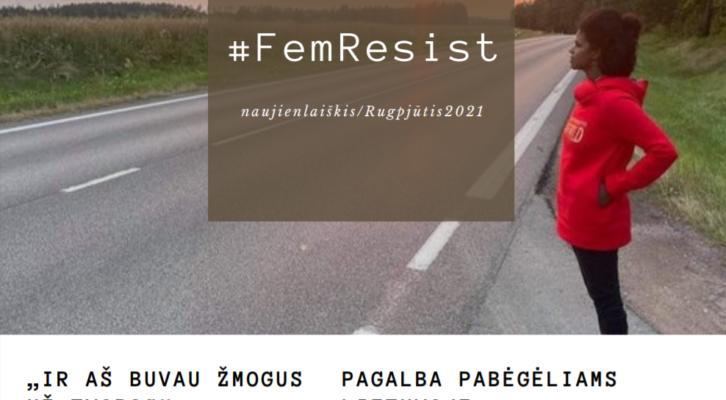Skaitykite #FemResist naujienlaiškį